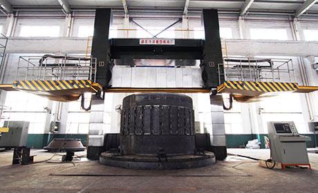 Φ6米数控双柱立车